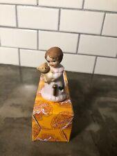 Enesco Growing Up Birthday Girls Age 1 Brunette Girl  Figurine Collectible Nib