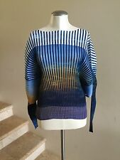 New with Tags $1,045 ISSEY MIYAKE Pleated Tunic Top Bouse, Size 2 (XS/S)