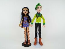 Monster High Dolls Cleo de Nile and Boy Doll Deuce Gorgon Boo York Couple
