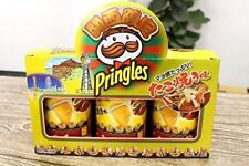 sold only OSAKA TAKOYAKI limited pringles sauce mayonnaise poteto chips 3cans