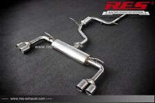RES Catback +2 Tailpipes Each Side FOR Audi A3 8V7/8VS/8VA 2014- 1.4T/1.8T/2.0T