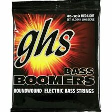 GHS ML3045 Bass Boomers 4-String Bass strings 45-100