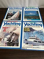 Lot of 4 Vintage Yachting Magazines 1989 May, June, July and August