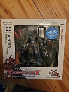 Revoltech 123EX Monster Hunter Blue Rathalos Armor Hunter