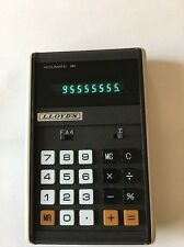 Lloyds Accumatic 30 Calculator 8 digits blue Led 7 segment display Eh-9036 Japan