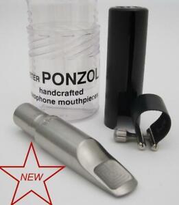 Ponzol M2 Plus Stainless Steel 110 Tenor Saxophone Mouthpiece NEW