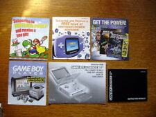 Lot of 6 Game Boy Advance Sp 2003 Manual + Inserts & 2 Other Gameboy Inserts Ex