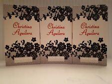christina aguilera perfume 3 x 1.2ml edt