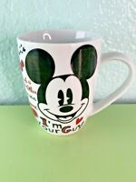 Disney Store Mickey Mouse I'm Your Guy Love White Coffee Mug Tea Cup No Box