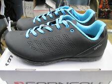 Louis Garneau Opal Women's Black 39 EU 7.5 US Cycling SPD Spin Shoe