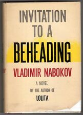 Invitation to a Beheading by Vladimir Nabokov (1st edition)