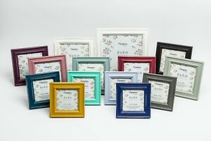 Shabby Chic Instagram Square Rustic Distressed Wood Photo Picture Frame Colours