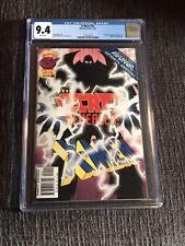 X-Men #54 (Marvel Comics, 7/96) CGC Graded 9.4. Direct Edition.