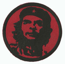 Patch écusson brodé patche Che Guevara rouge thermocollant badge embleme