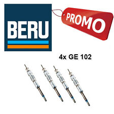 4x Original Beru Glühkerzen4-Zylinder Bmw 1er E81 E87 118 120 3er E46 318 320