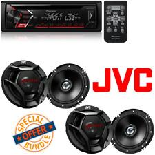 Pioneer CD Single DIN Car Receiver W/ (4) JVC 6.5