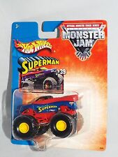 Hot Wheels 2002-03 Monster Jam 1:64 Series #39 Superman Blue