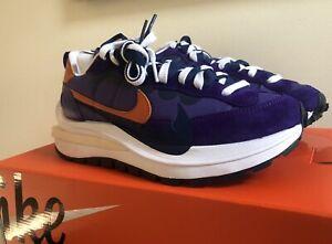 Nike X Sacai Vaporwaffle 'Dark Iris' UK 6.5 / US 7.5 / EU 40.5