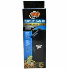 LM Zoo Med TurtleClean Deluxe Turtle Filter 10 Gallons