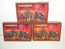 Warhammer Fantasy/AOS warriors of chaos, chaos knights X3 new in box.