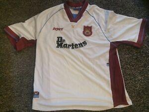 West Ham United  1998-99 Pony away shirt Size xxl adults