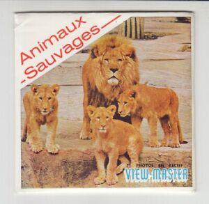 Wilde Tiere - View Master Scheiben (französisch)