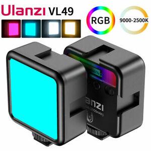 Ulanzi VL49 Pocket Camera Photography Video Fill Light RGB LED 2500K-9000K