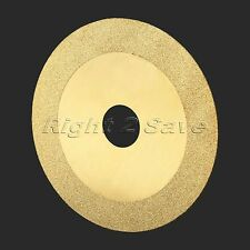 100mm Round Golden Diamond Slice Grinding Cutting Cutter Disc for Angle Grinder