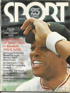 SPORT not Illustrated ST 1971 WILLIE MAYS San Francisco Giants Baseball NO LABEL