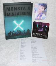 Monsta X Vol.3 The Clan Part 1 Lost Found ver. Taiwan CD+Sticker+I.M Card