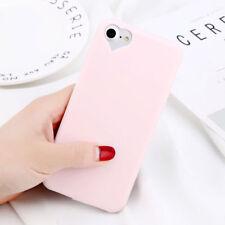 For iPhone X 8 6s 7 Plus Cute Girl Love Heart Matte Rubber TPU Soft Case Cover