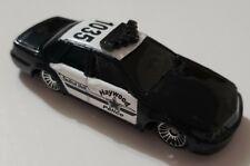 MAISTO HAYWOOD POLICE TACTICAL UNIT CAR BLACK & WHITE DIECAST