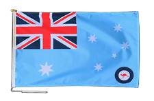 More details for royal australian air force flag with rope and toggle - various sizes