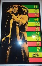 Pyramid America Bob Marley Stripes Blacklight Poster 23x35  VPA 2030 Regae