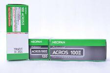 NEW RELEASE FUJIFILM NEOPAN ACROS 100II 100 II 120 3 ROLLS