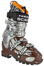 Scarpa 12004-500 Nib Mens Mobe Freeride Ski Boot Mondo 270 Us 8 Made In Italy