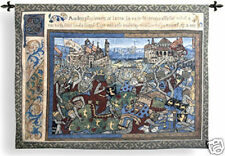 Epic Wall Tapestry Medieval Battle Picture Of Knights