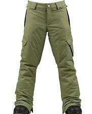 Burton Girls Carg Elite Cargo Snowboard Pants (M) Weeds