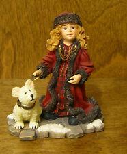 Boyds Dollstone #3564 Lara with Peary...Moscow at Midnight  NIB #5 Vic Ser