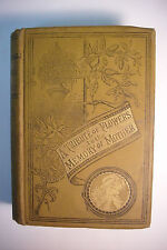Ornate 1895 A TRIBUTE OF FLOWERS TO THE MEMORY OF MOTHER *Prose*Poetry* NICE!!!