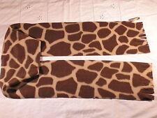 Giraffe Fleece Scarf Animal Print