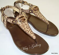GUESS  Thongs  Flip Flop Slppers Sandals Shoes Flops open Toe shoe T strap  7