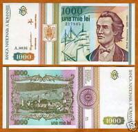 Romania, 1000 (1,000) Lei, 1993, P-102, UNC