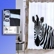 Textile Photo Print Rideau de Douche 180x200cm + 12