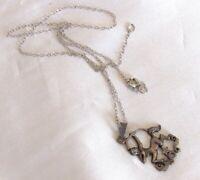 Vintage Sterling Silver Zodiac Sagittarius Centaur Archer Pendant Necklace