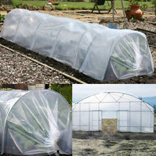 20 ft x 25 ft 5 Year Clear Greenhouse Plastic Film 6 mil Cover UV Resistant