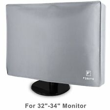 Dust Proof Hand-made Desktop Computer Cover for LCD LED Desktop PC 32'' to 34''