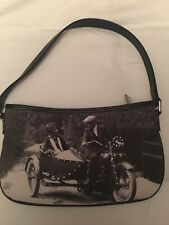Authentic Old Style Harley-Davidson Womens Black Rider Hip Bag