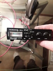 Para Dynamics PDC 5  Power & SWR Meter and Antenna Matcher Tested & ACCURATE!