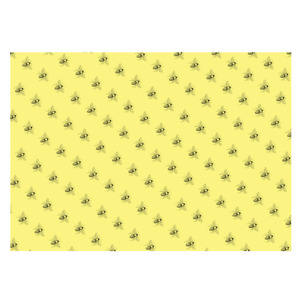 Unique High Quality Yellow Bee Style Gift Wrap-Size 297x420mm-GP-217